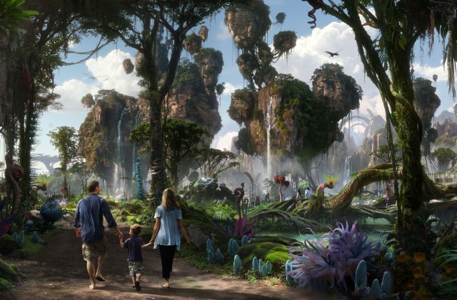 Disney Releases Behind The Scenes Video Of Pandora: The World Of AVATAR