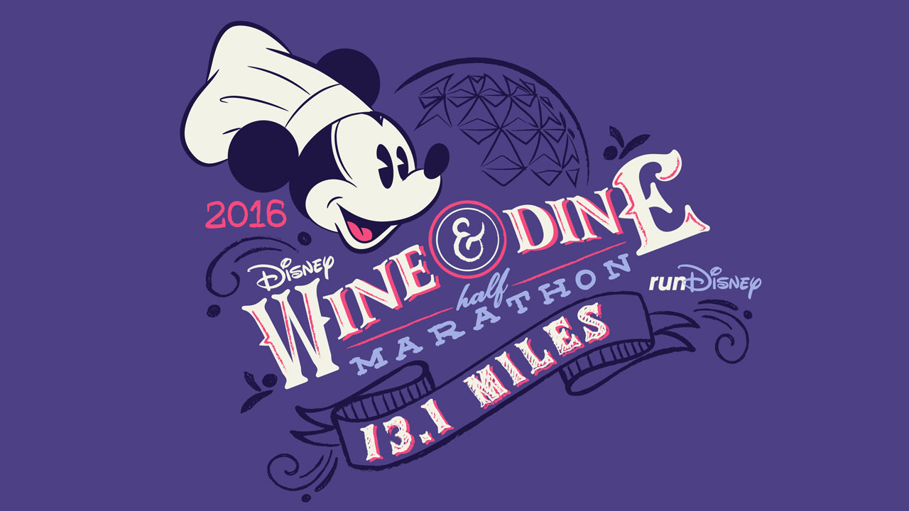 Disney Wine & Dine Half Marathon Weekend 2016 Merchandise Revealed
