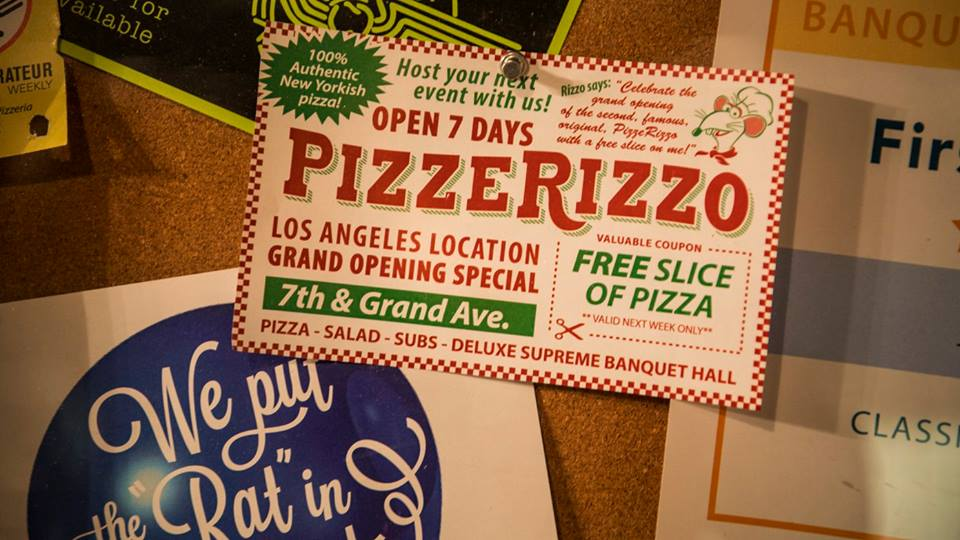 PizzeRizzo Now Open At Disney's Hollywood Studios
