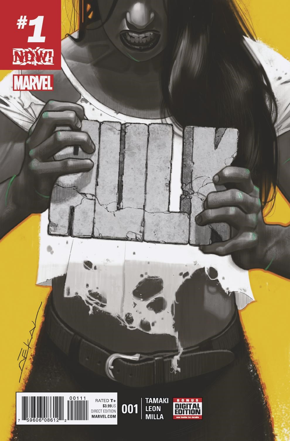HULK #1 Smashes This December – Your First Look!