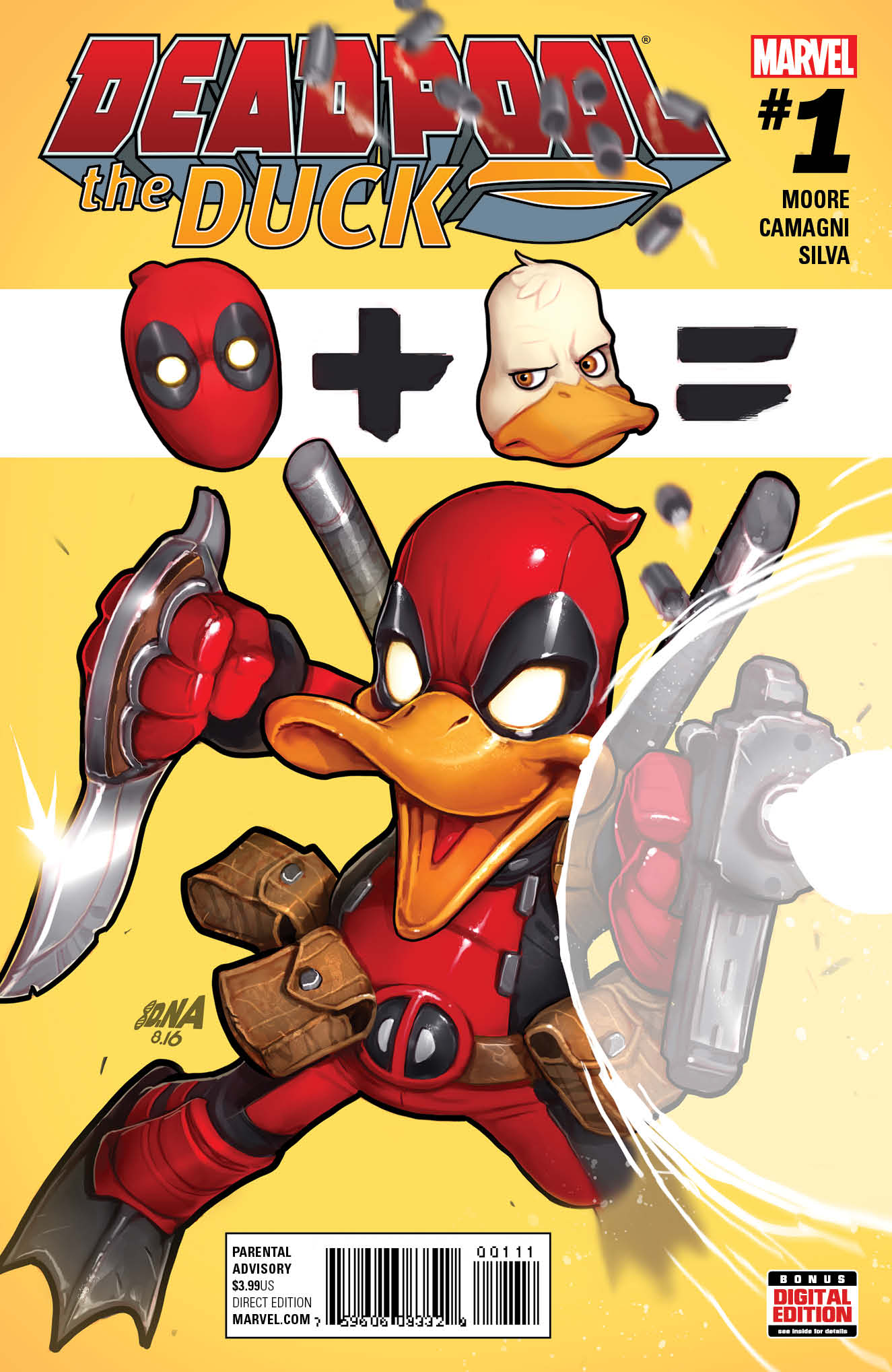 A Hero Most Fowl – Your First Look at DEADPOOL THE DUCK #1!