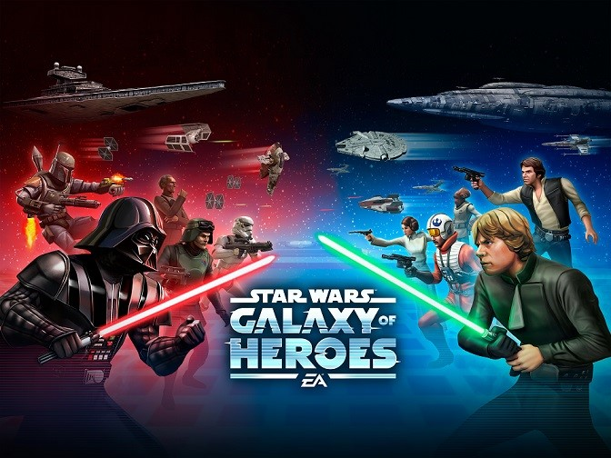 Star Wars Galaxy Of Heroes Update Adds Iconic Ships
