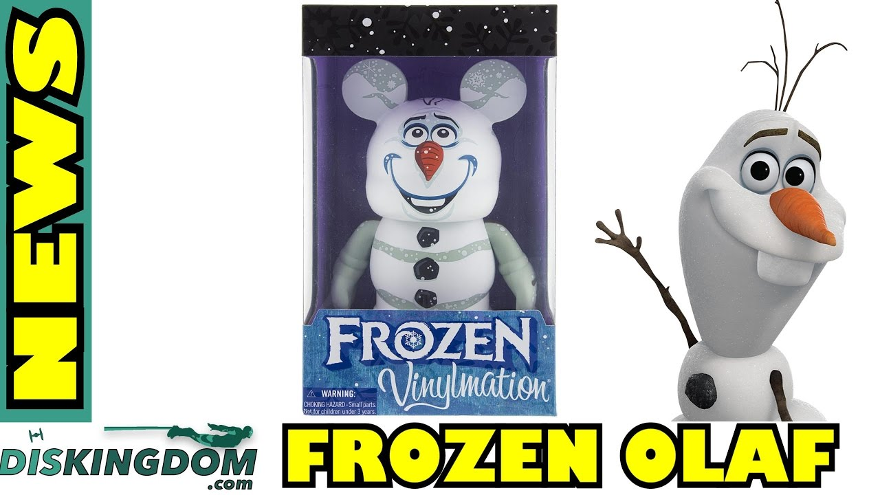 Frozen Olaf 9″ Vinylmation Coming Soon