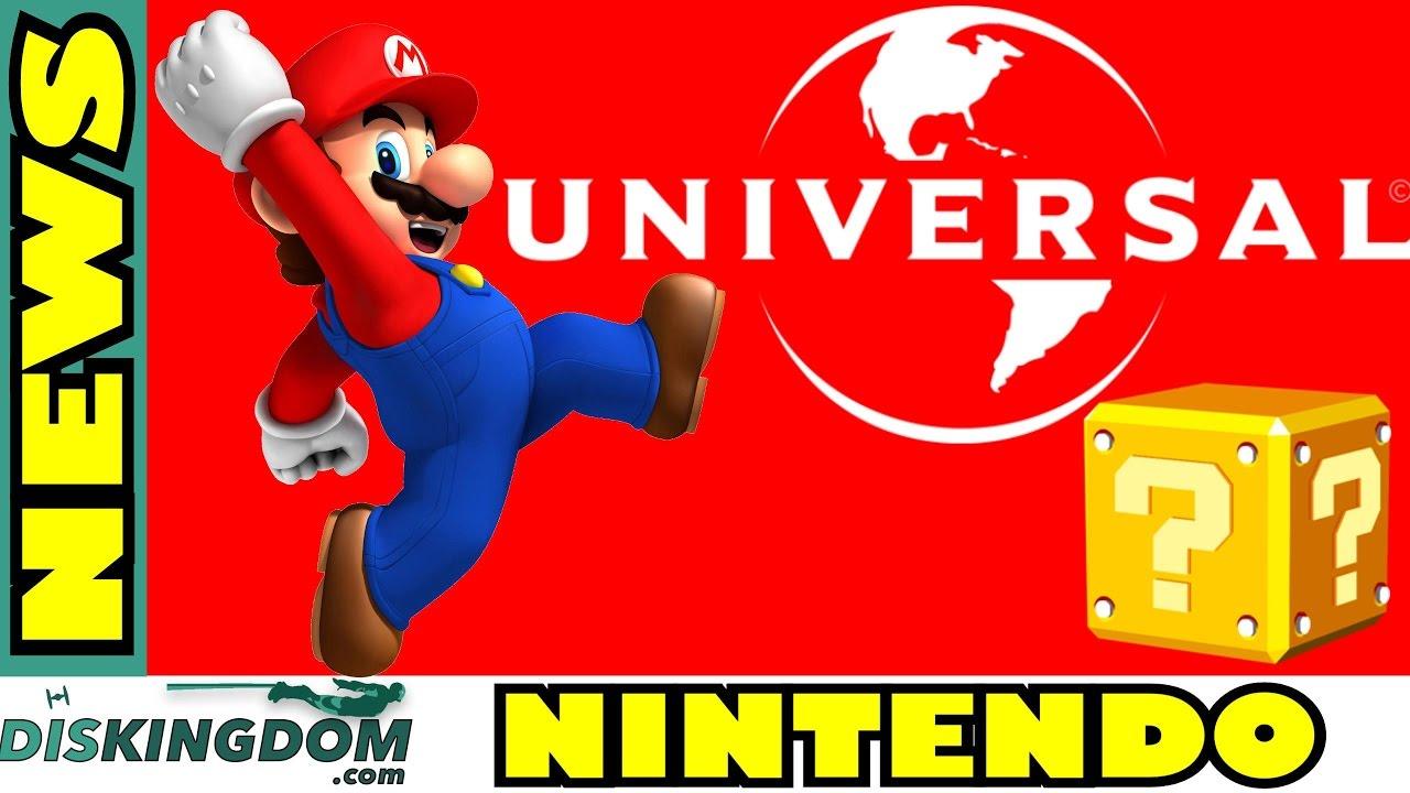 Nintendo Reveal Some Details On Universal Studios Parks Partnership