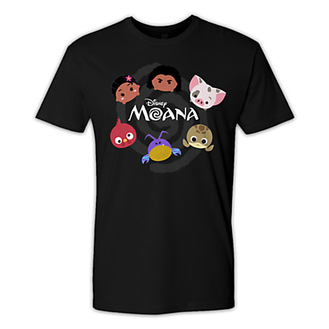 Three Moana Tsum Tsum Limited Release T-Shirts Out Now