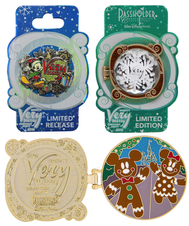 Mickeys Very Merry Christmas Party Merchandise.Mickey S Very Merry Christmas Party 2016 Pins Revealed