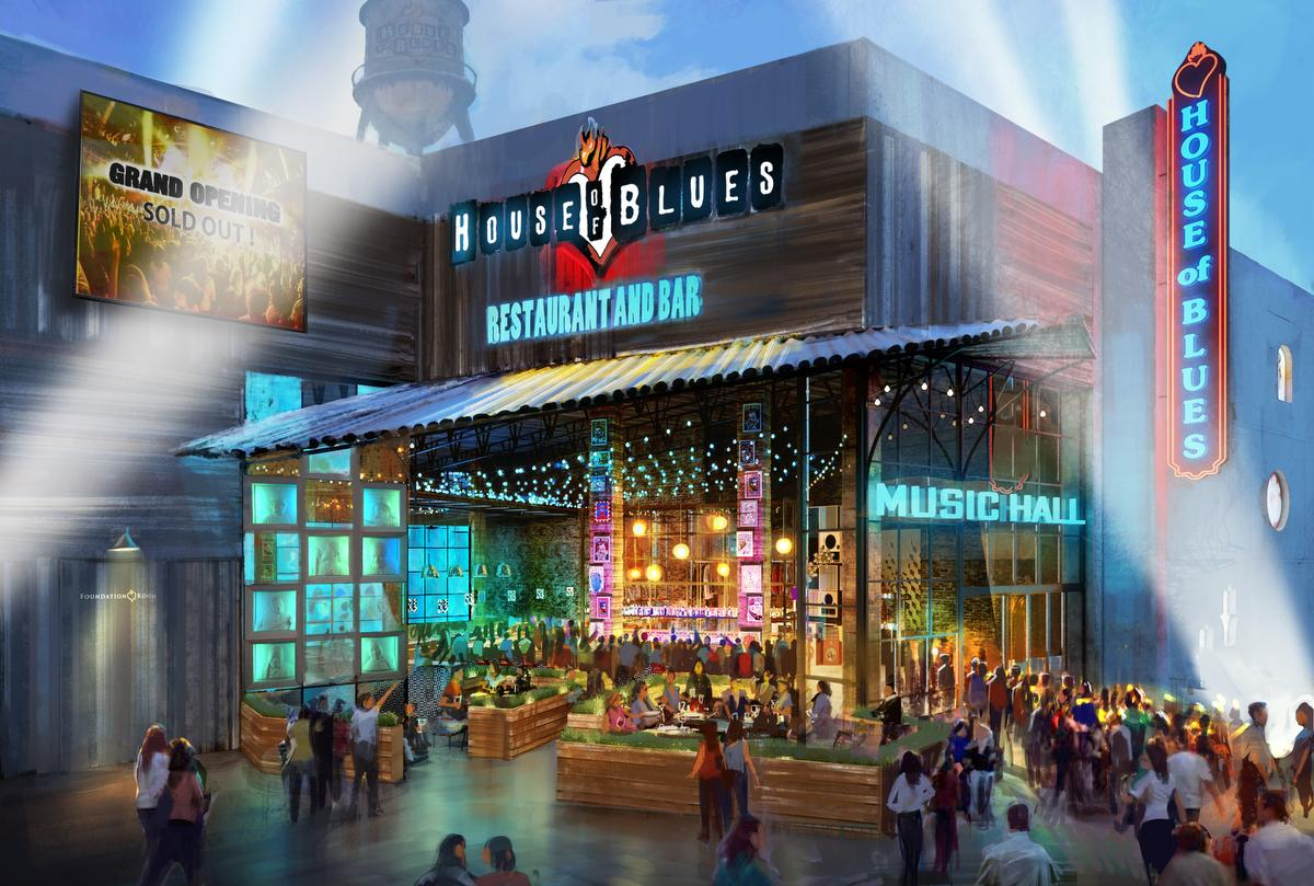 Anaheim House of Blues March 2017 Opening Marks First New House of Blues in a Decade