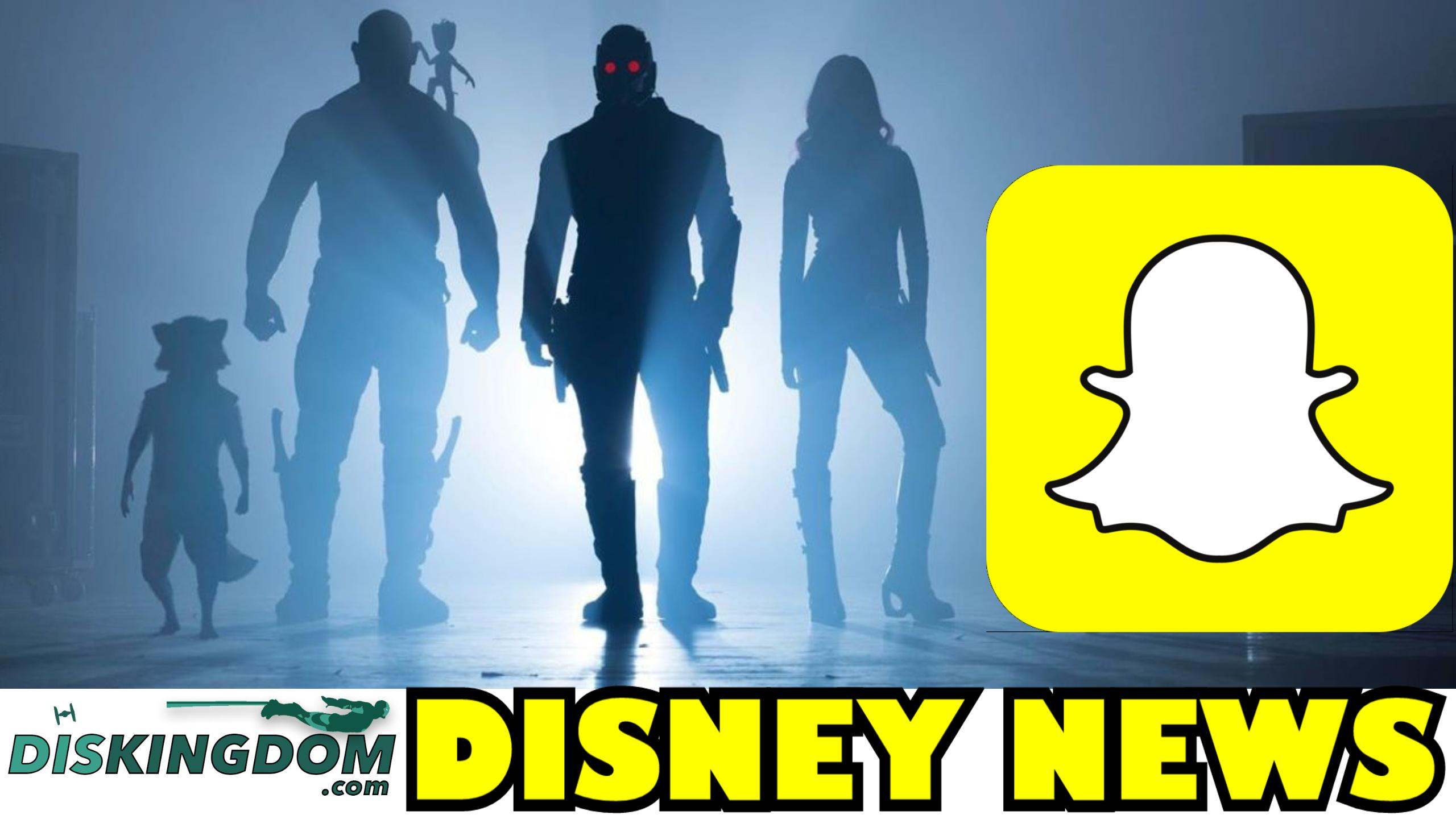 Disney Signs Deal With Snapchat & Guardians Of The Galaxy Meet & Greet Coming Soon | DK Disney News