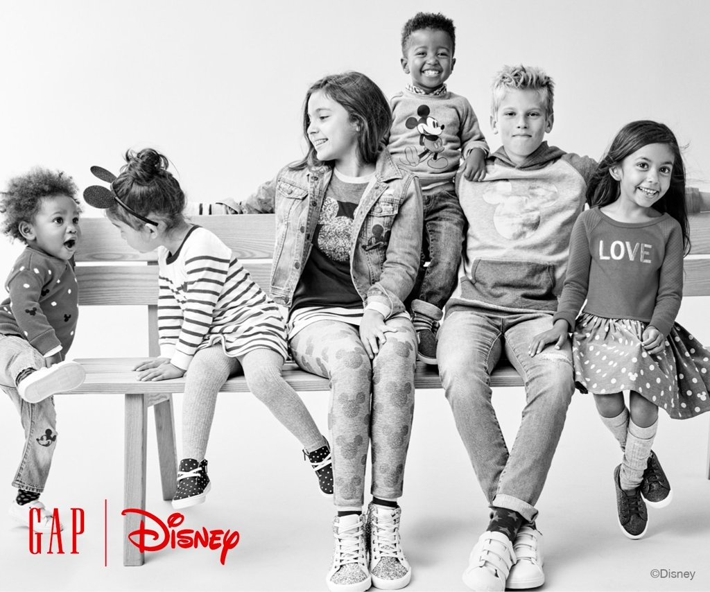 Gap Launches First Disney Limited Capsule Collection