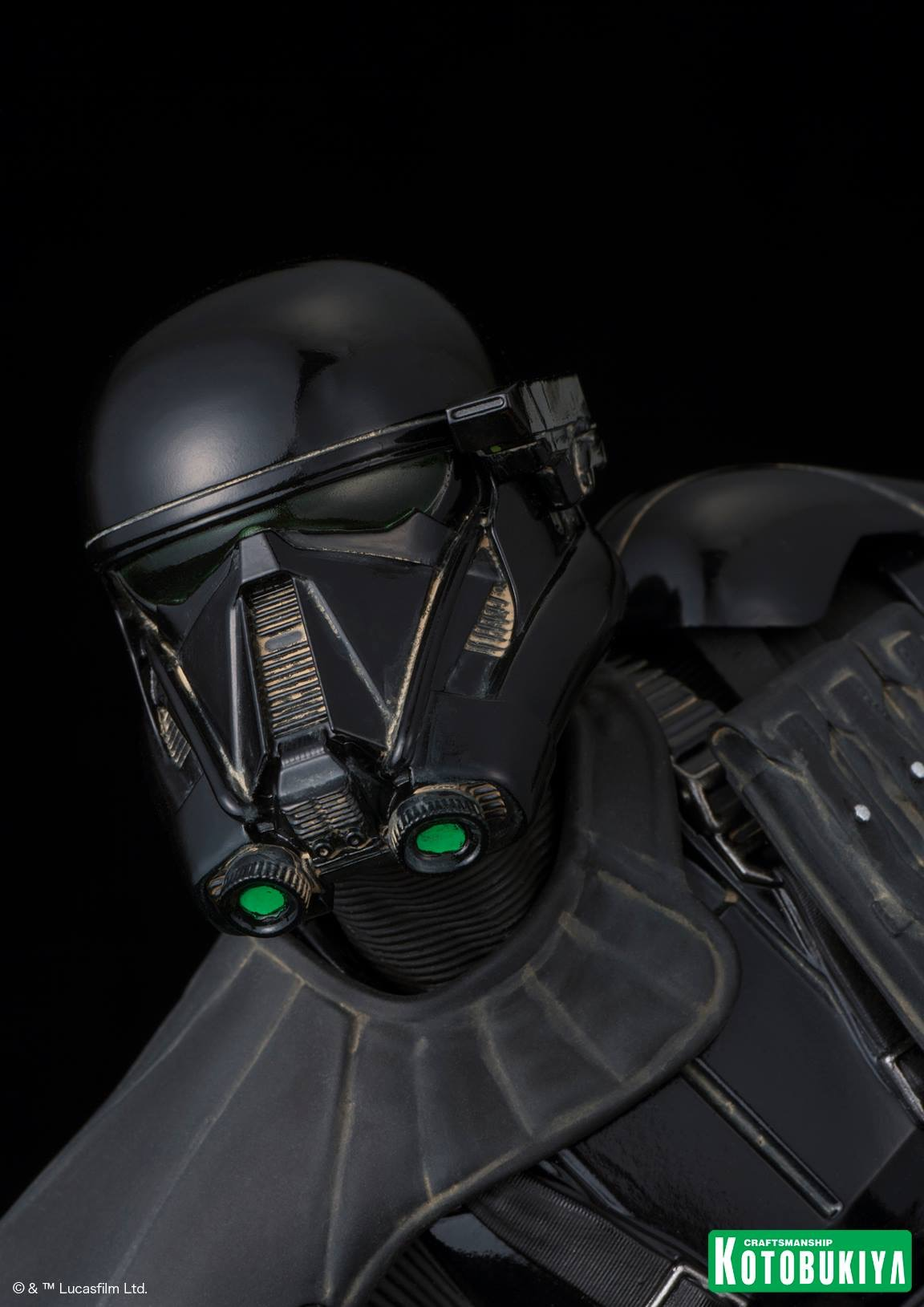 rogue one death trooper artfx figure coming soon. Black Bedroom Furniture Sets. Home Design Ideas