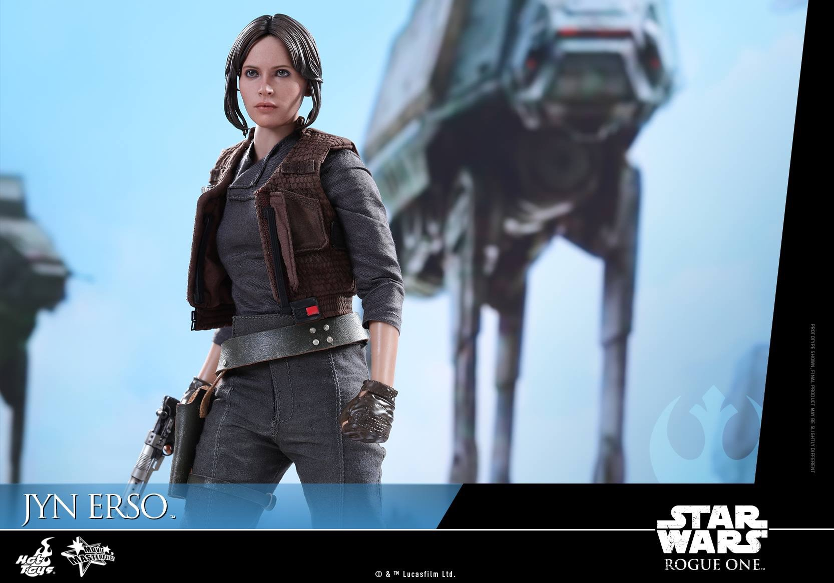 Rogue One Jyn Erso Hot Toys Figure Coming Soon