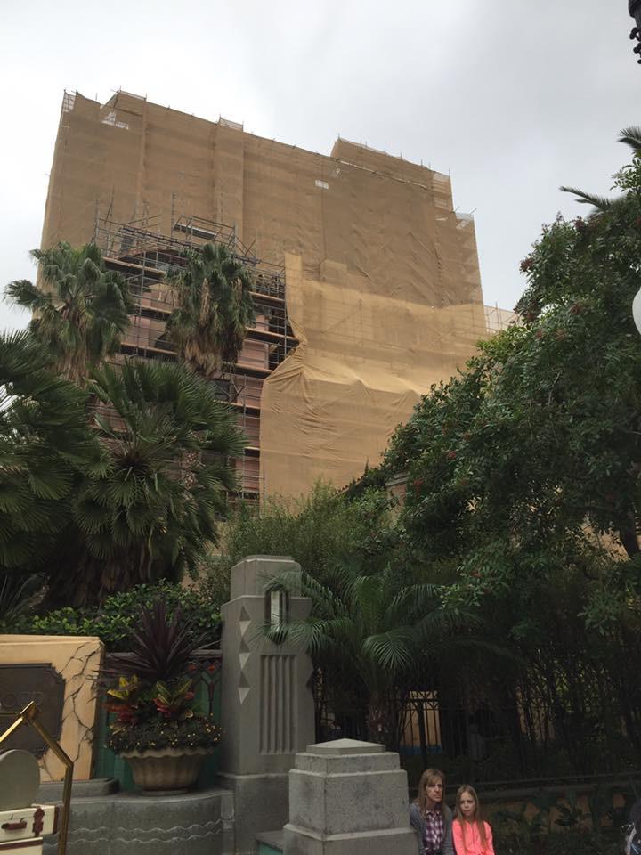 Tower Of Terror Building Update