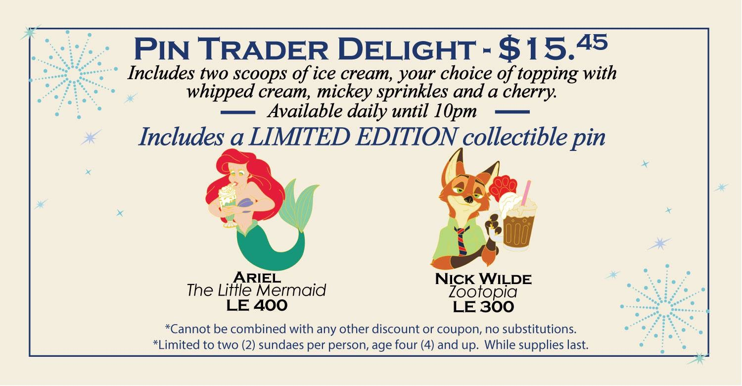 More Pin Trader Delight Pins Released