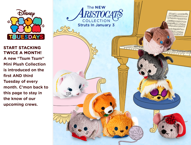 The New Aristocats Tsum Tsum Collection Coming Soon