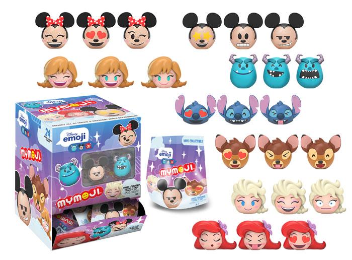 Disney MyMoji Figures Coming Soon