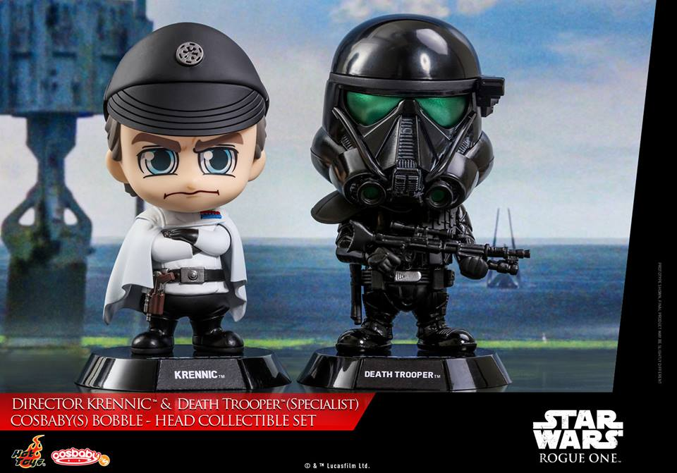Rogue One – Krennic & Death Trooper Specialist Cosbaby Set Coming Soon