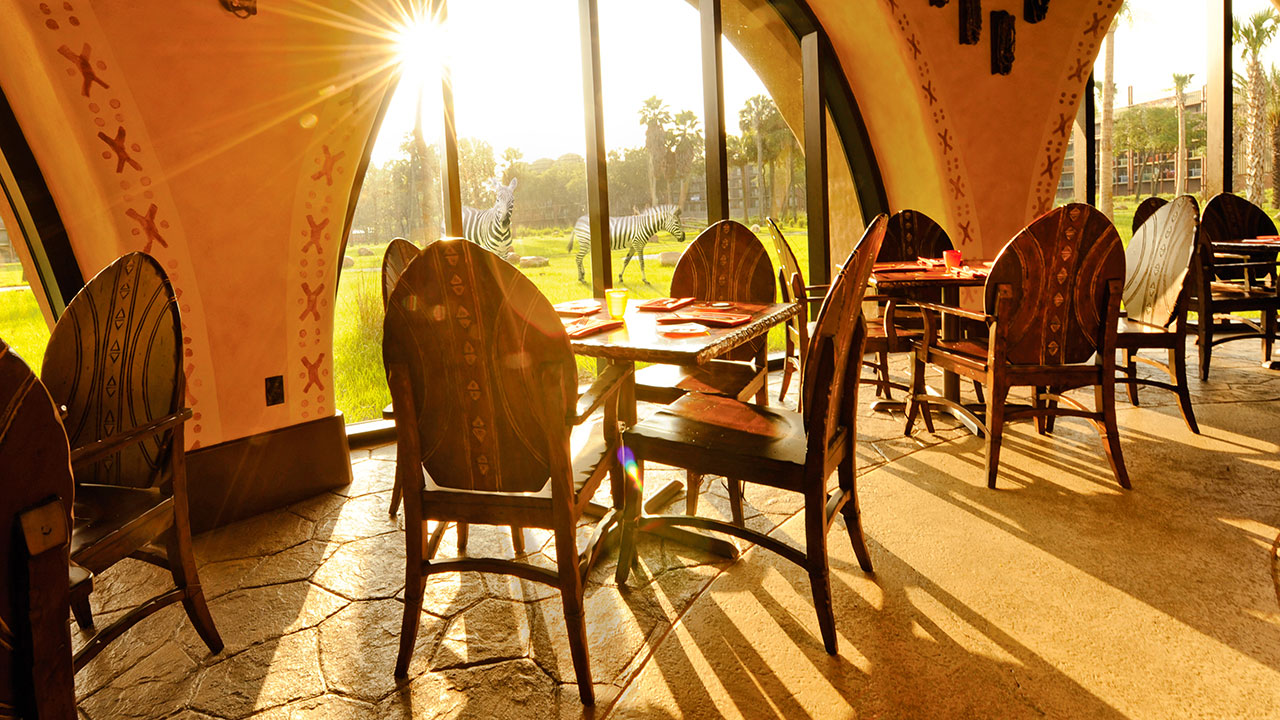 Sanaa Kuamsha Breakfast Available at Sanaa in Animal Kingdom Lodge