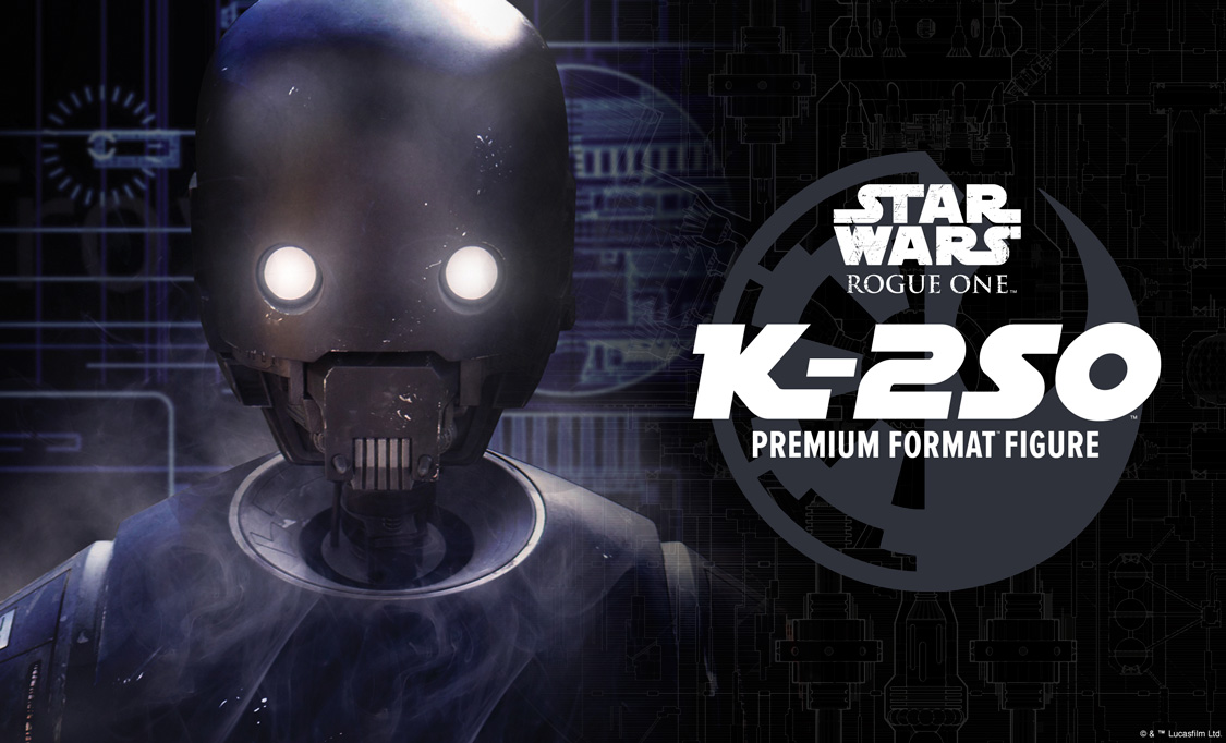 Rogue One K-2SO Premium Format Figure Coming Soon