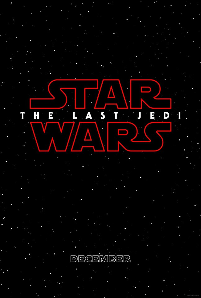 Star Wars: The Last Jedi Coming to Theaters in December