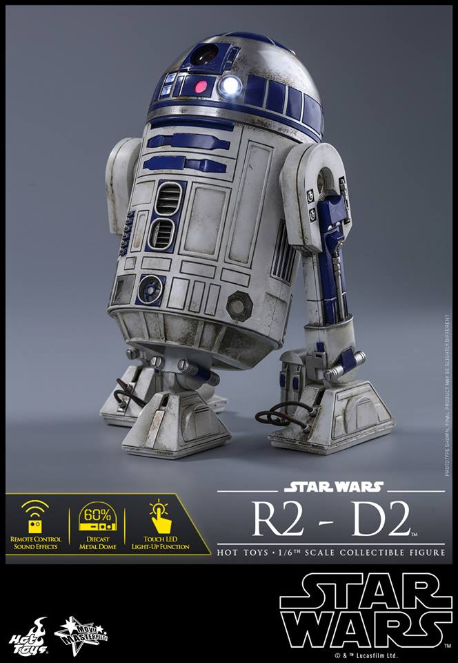 Star Wars: The Force Awakens R2-D2 1/6th Scale Collectible Figure Coming Soon