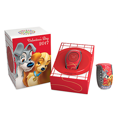 Lady & The Tramp Valentine's Day MagicBand 2 Out Now
