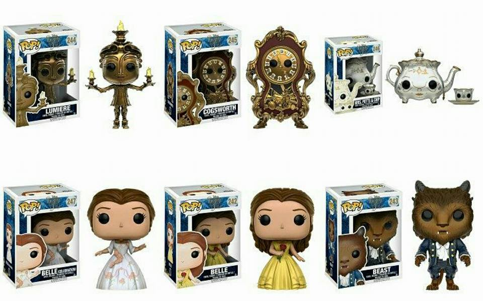Funko First Look at the Beauty and the Beast Movie Pops | | DisKingdom.com | Disney | Marvel | Star Wars - Merchandise News
