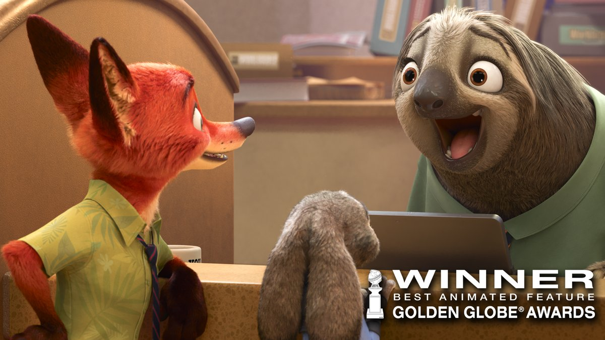 Zootopia & Black-ish Pick Up Global Globes Awards