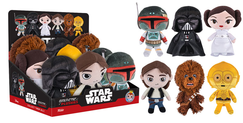 Star Wars Galactic Plushies Available Now!