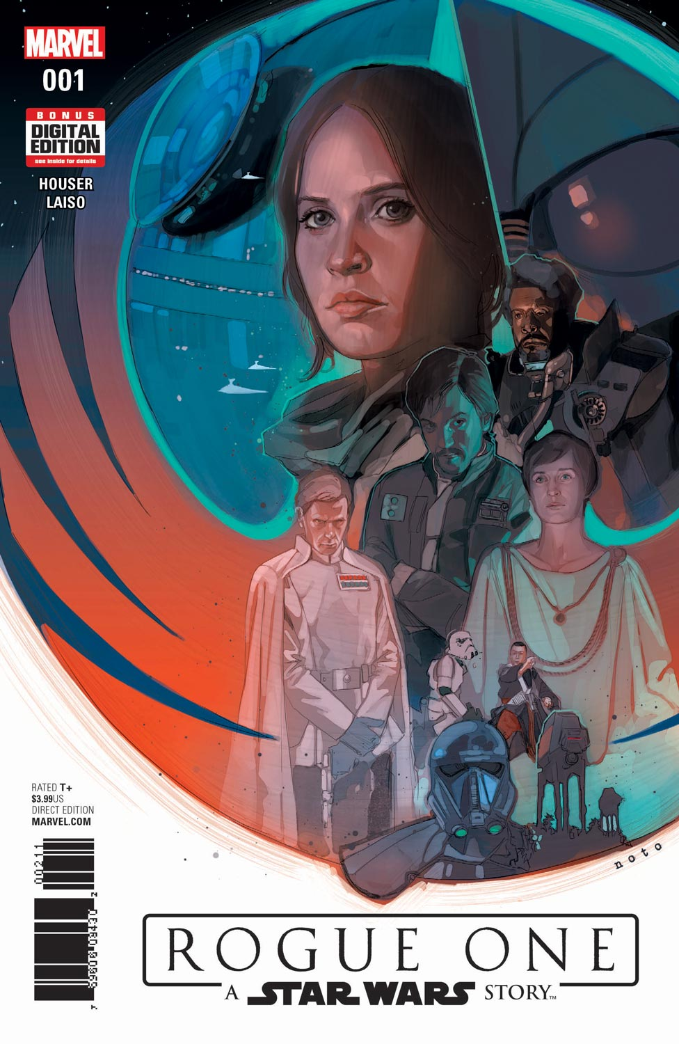 ROGUE ONE: A STAR WARS STORY Comes to Marvel Comics This April
