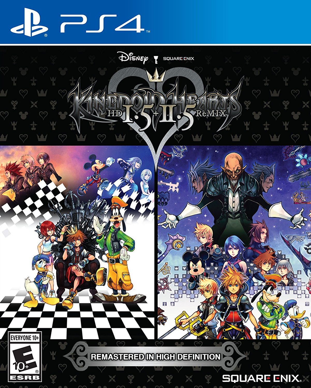Kingdom Hearts 1.5 & 2.5 Remix Box Art Revealed