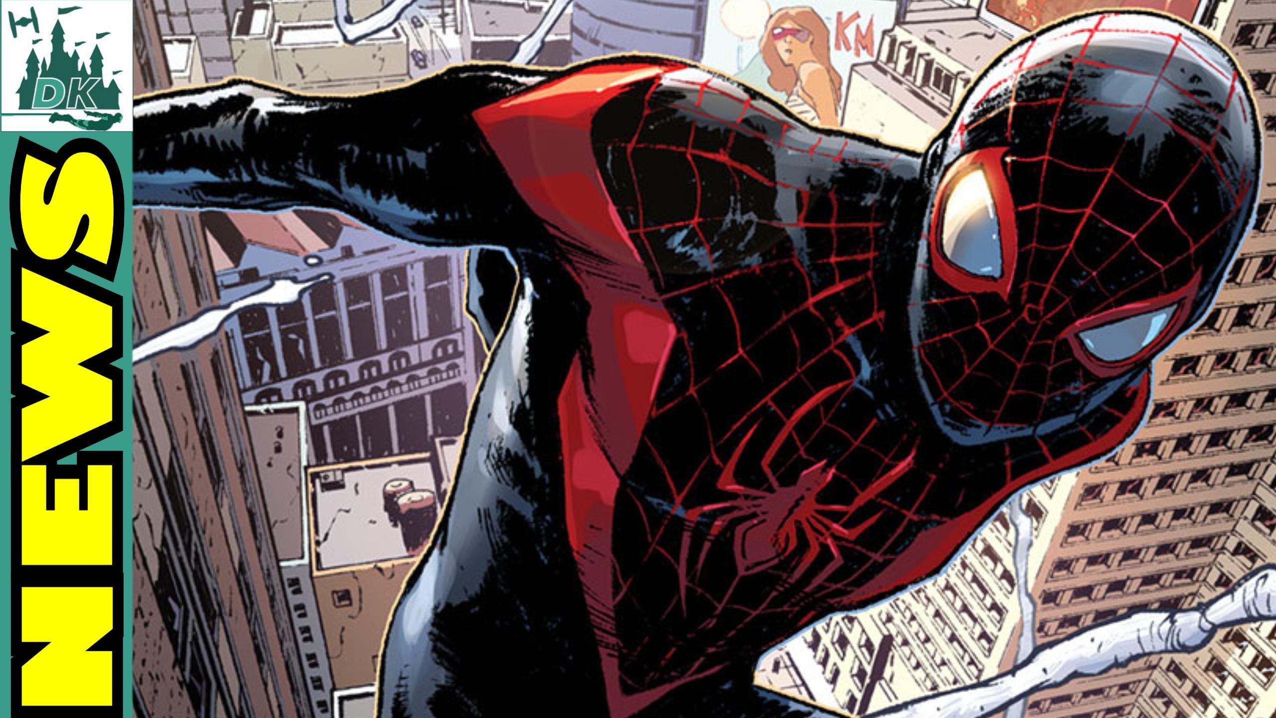 Animated Spider-Man Movie To Focus On Miles Morales   DK Disney News