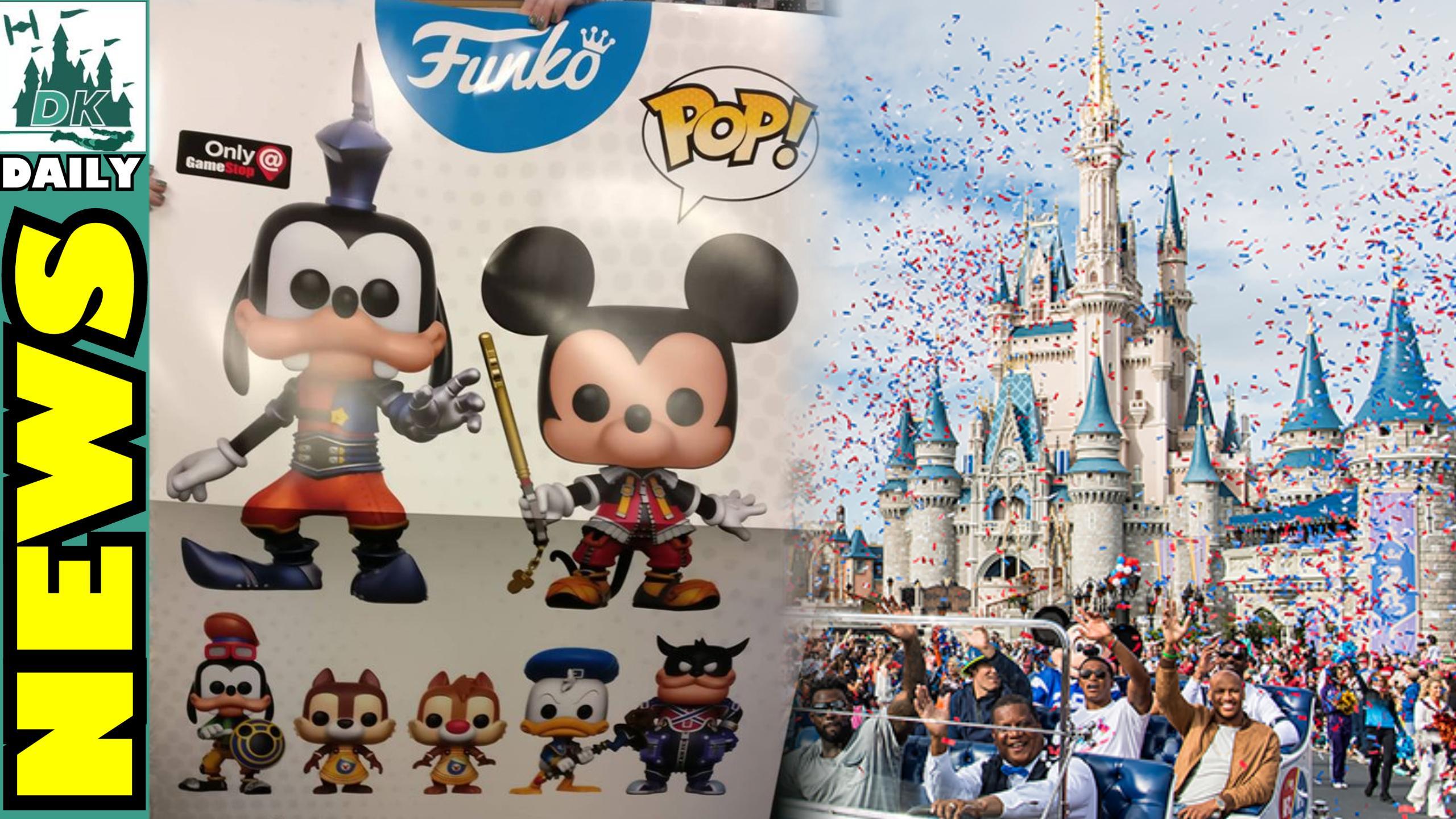 Kingdom Hearts Pop Vinyls Coming Soon | DK Disney News