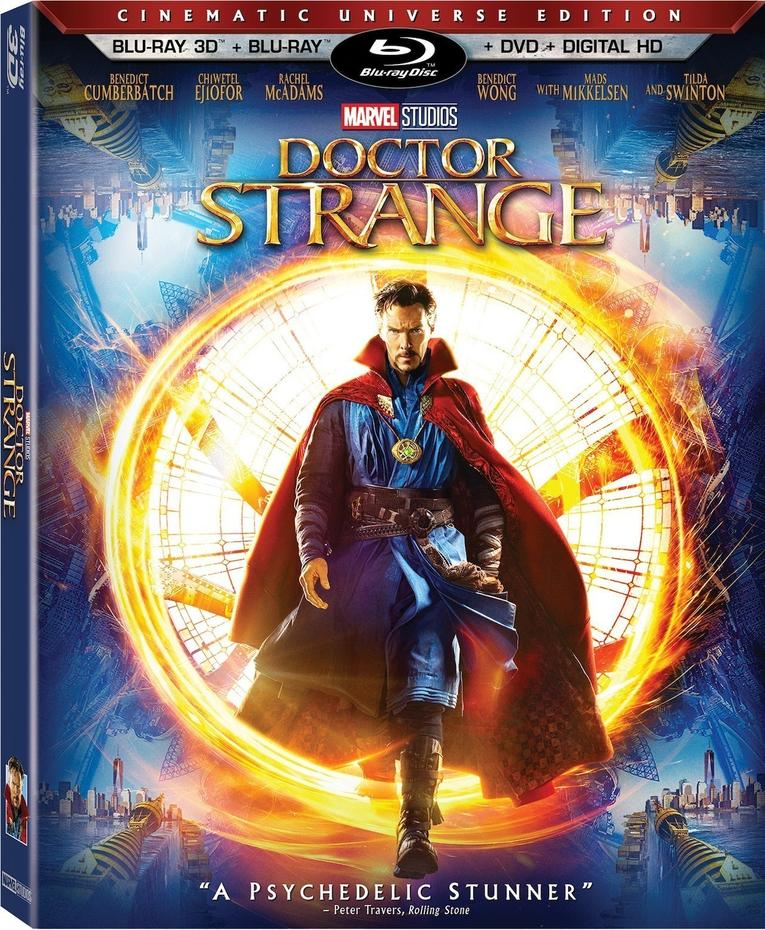 Doctor Strange Coming Soon To Home Video