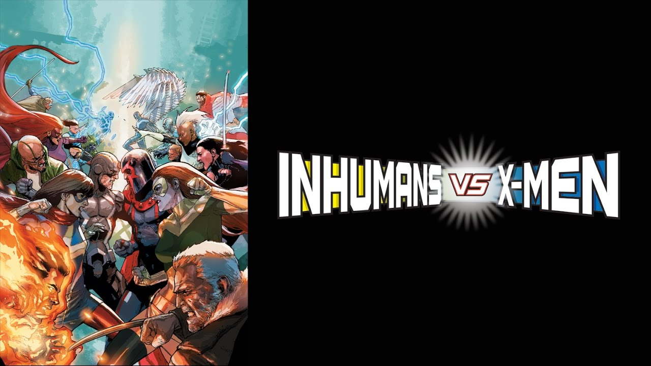 The War Rages On! Presenting a Special Trailer for INHUMANS VS. X-MEN!