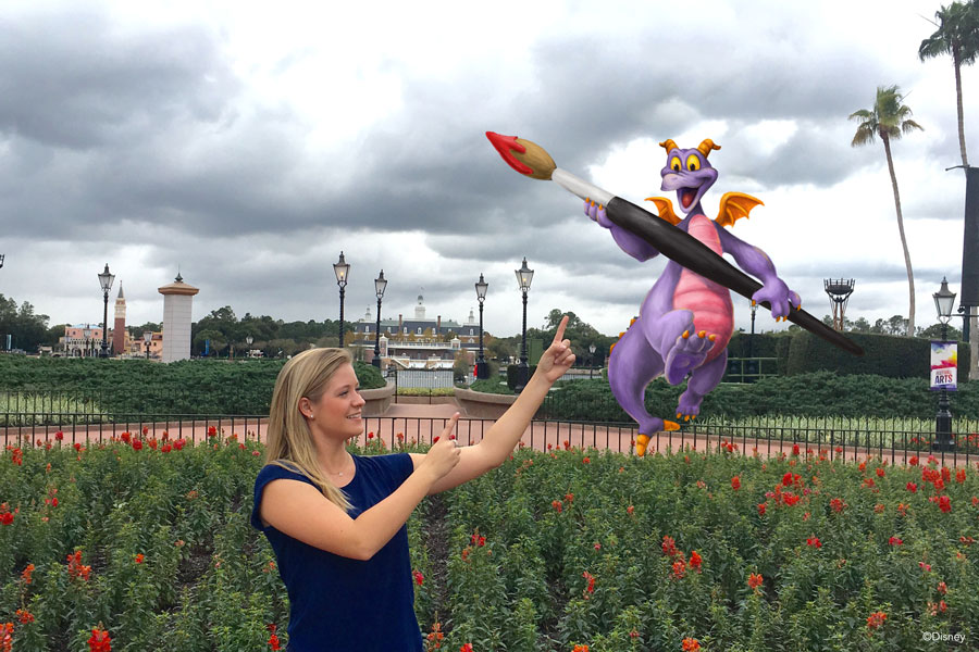Special Photo Opportunities Come To Epcot's International Festival of the Arts