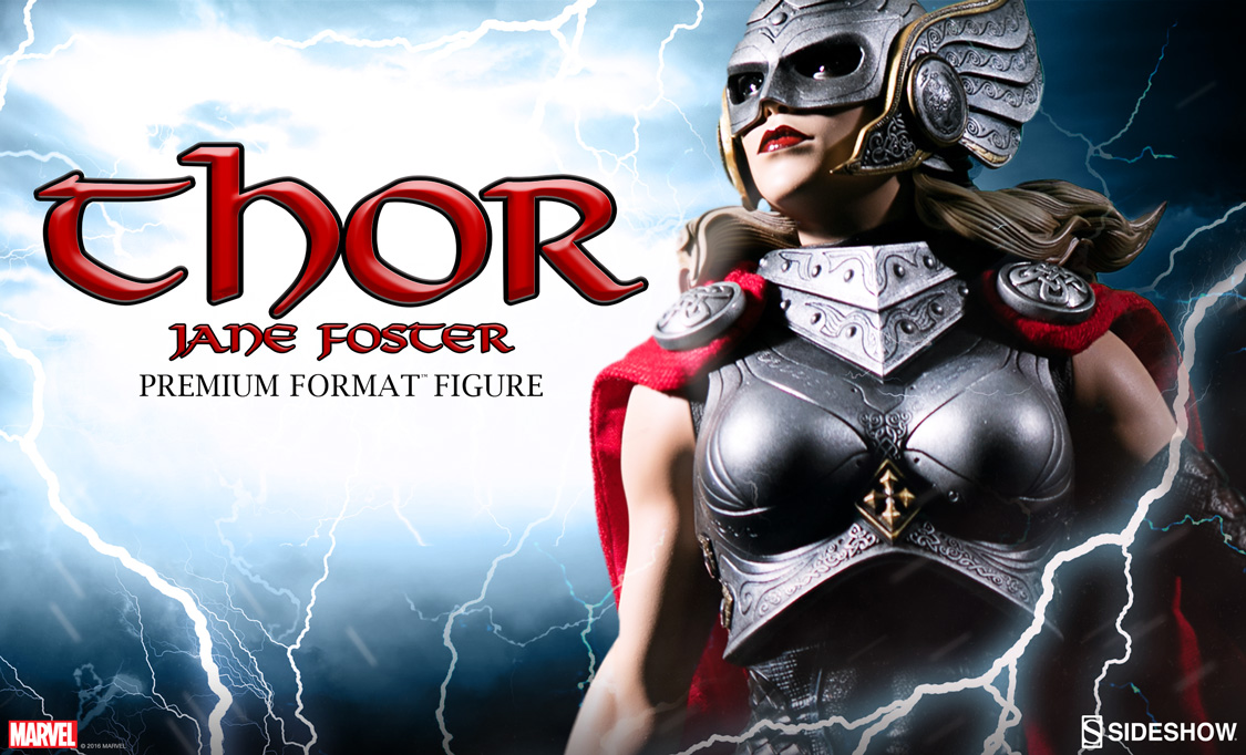 Thor: Jane Foster Premium Format Figure Coming Soon