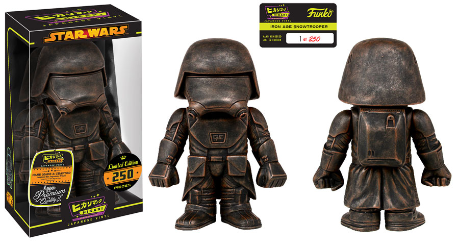 Star Wars Iron Age First Order Snowtrooper Hikari Figure Coming Soon