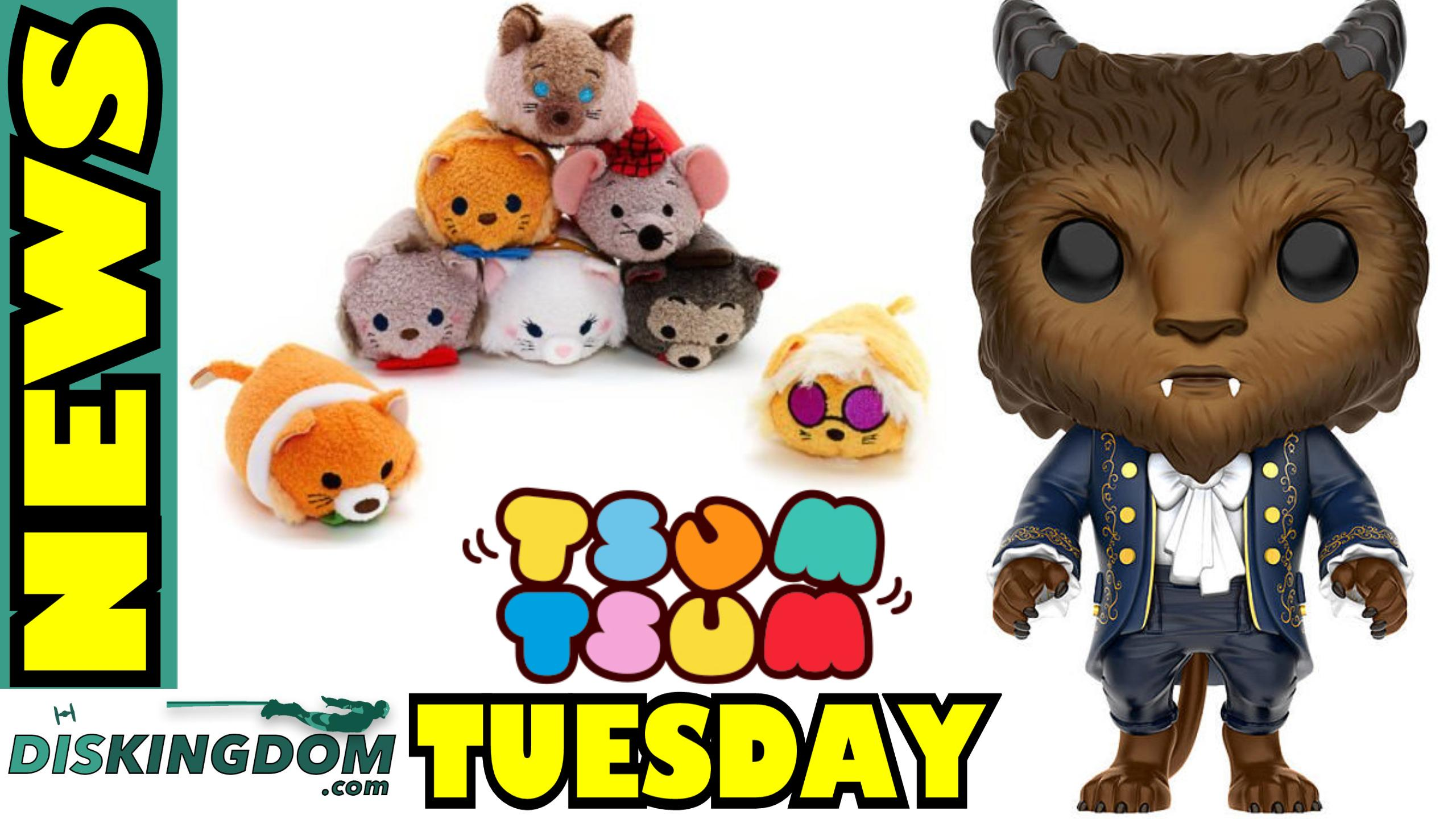 Tsum Tsum Tuesday + Beauty & The Beast Pop Vinyls Coming Soon | DK Disney News