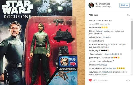 Rogue One Galen Orso 3.75″ Figure Revealed (Hasbro)