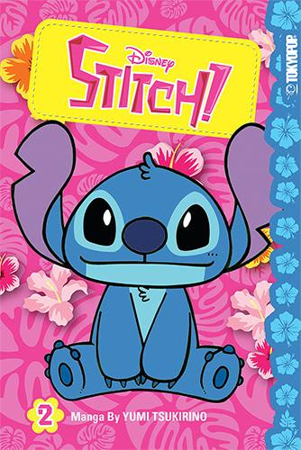 Disney Stitch! Manga Vol. 2 Now Available
