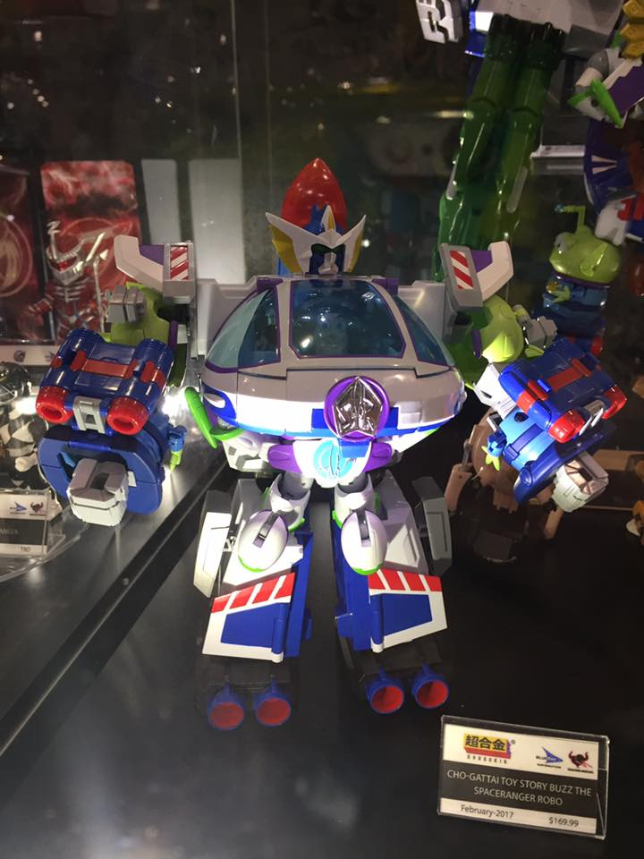 Toy Story Chogokin Toy Fair Previews