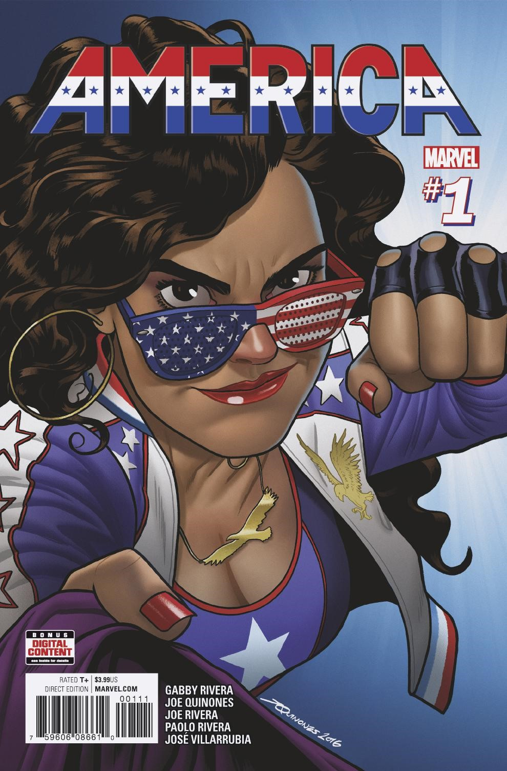 AMERICA #1 Explodes Into Comic Shops This March – Your First Look!