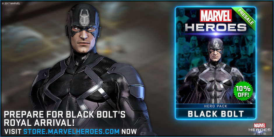 Black Bolt Coming To Marvel Heroes