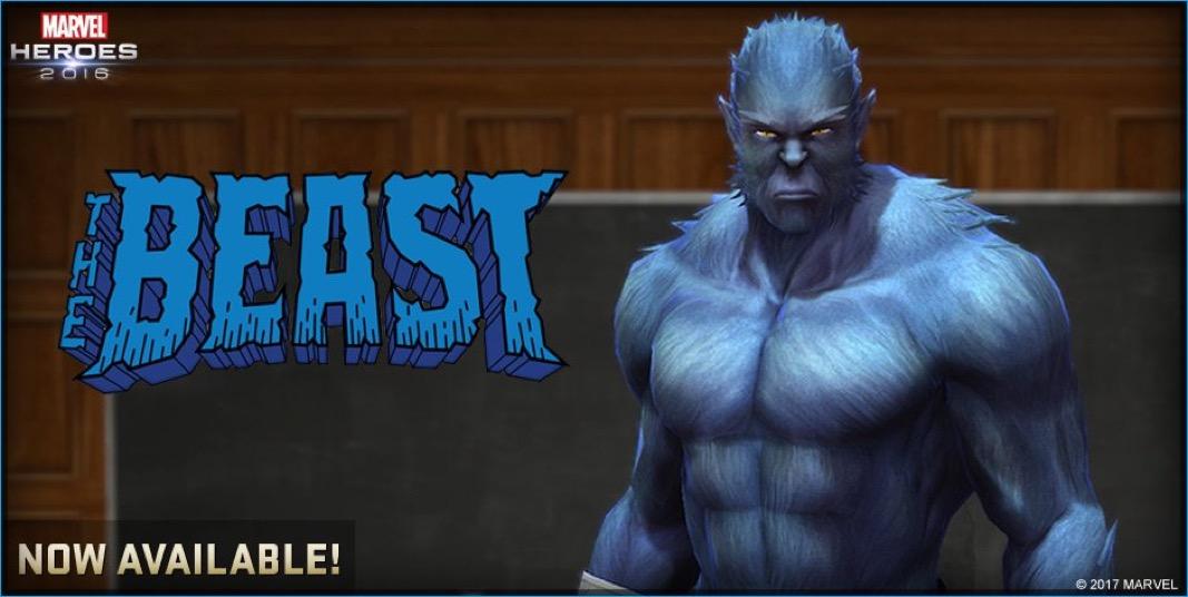 Beast & Jubilee Join Marvel Heroes 2016
