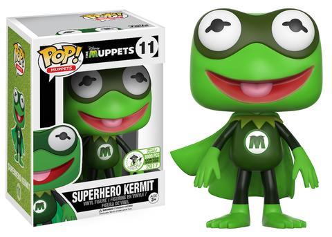 Superhero Kermit Pop Vinyl Coming To Eccc Diskingdom