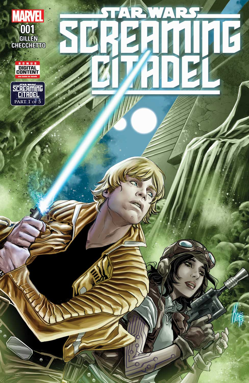 STAR WARS: THE SCREAMING CITADEL – A New Five-Part  Crossover Beginning This May!