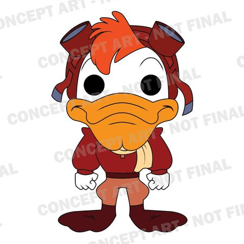#darkwing duck #launchpad mcquack #pop #funko #toy fair 2017