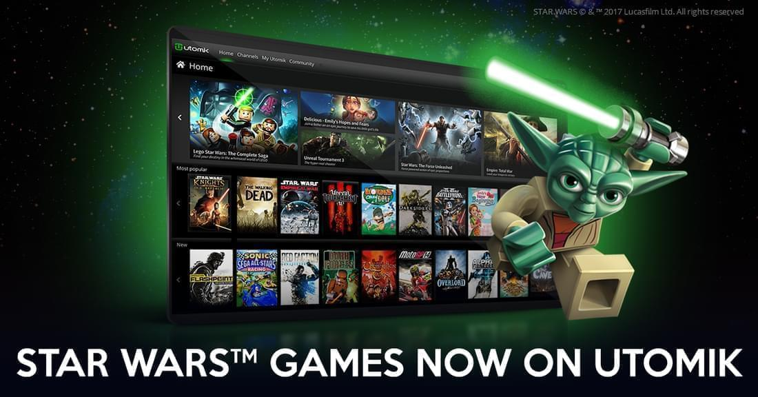 Popular Star Wars Games Now Playable On Utomik