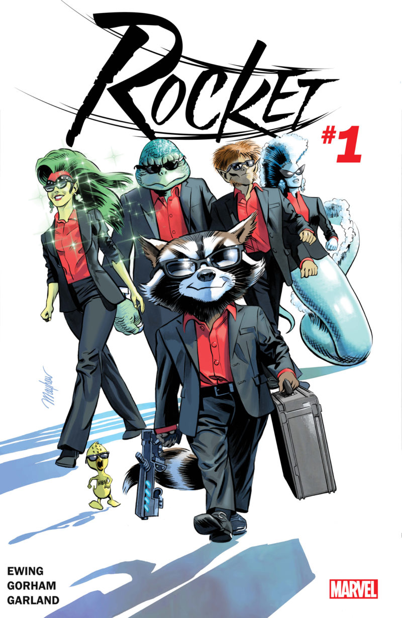 ROCKET #1 Blasts Off For a Life of Crime This May!