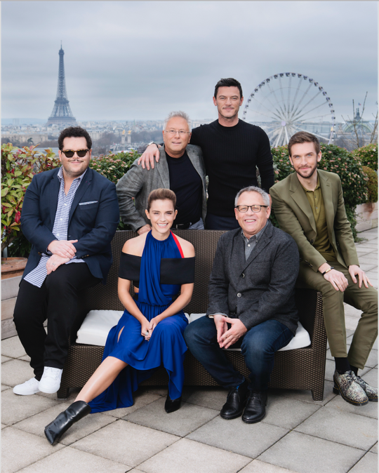 """The Cast of """"Beauty and the Beast"""" Kicks Off Their Worldwide Tour in Paris"""